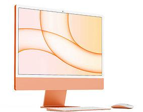 pc apple 3D model Apple iMac 24 2021
