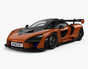 3D model McLaren Senna 2019