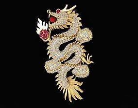 1450 Dragon Pendant 3D print model