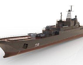 Ropucha Class Landing Ship 3D model game-ready
