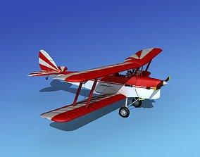 Dehavilland DH82 Tiger Moth V12 3D