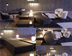 Minotti Set 2 3D model