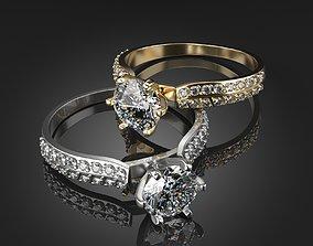 decoration Diamond Ring 3D print model