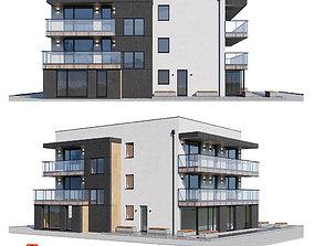 3D model PBR Modern house