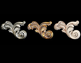 3D Classic carved 091
