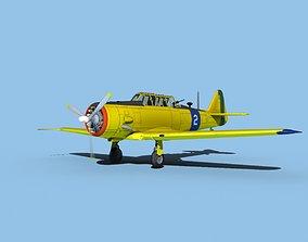 North American AT-6 Texan V07 Brazil 3D