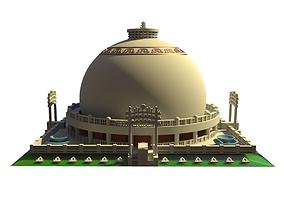 Deekshabhoomi Nagpur India Architecture Scale