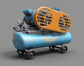 Old compressor 3D model