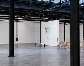 3D model Contemporary Art Gallery