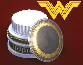 3D printable model Wonder Woman Shield