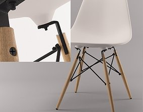 3D Eames chair DSW