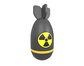 Nuclear Bomb v1 001 3D model