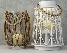 3D model Lanterns by ZARA HOME hemp