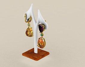 3D printable model earrings 3519