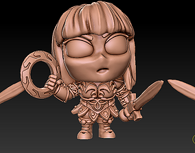 3D print model Xena Princess Warrior