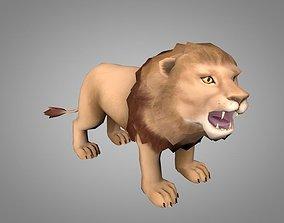 Lion or lioness 3D model