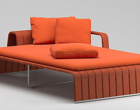 3D model Paola Lenti Daybed