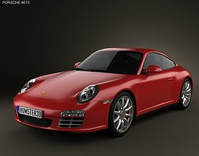 Porsche 911 Carrera 4S Coupe 2011 3D