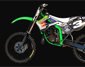 3D model 2002 KAWASAKI KX125