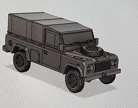9 Modern British Army Medium Utility LR 3D print model
