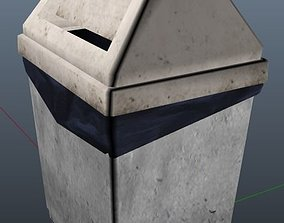 Dustbins 3D model