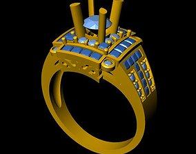hongkong DiamondRing 18K 3D print model