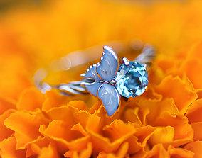 Pure Ice enamel ring 3D printable model