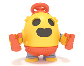 Brawl Stars Robo Spike 3D printable model