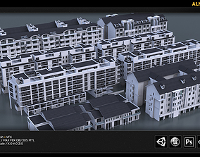 3D ALN City Kitbash Collection