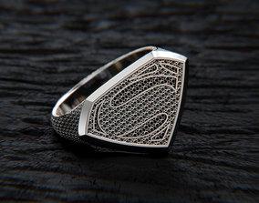3D printable model Superman Rings
