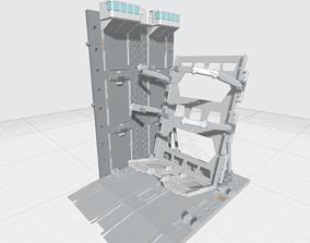 3D printable model -MHB04C- Mecha Hangar Bay 04 Hangar 2