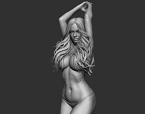 Woman Realistic Zbrush Sculpt 1 3D