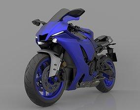 Yamaha YZF R1 2020 3D Model Ready to Print STL File