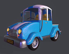 3D model Asset - Cartoons - Car - Truck