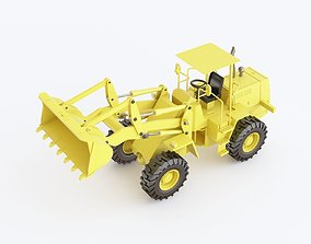 3D crawler Toy bulldozer