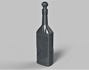 Klingon blood wine bottle from Star 3D printable model 4