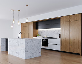 Minosa kitchen oven 3D model