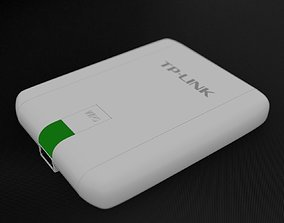 3D TP-Link TL-WN822N 300Mbps High Gain Wireless USB