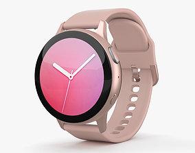 Samsung Galaxy Watch Active 2 44mm Aluminium Pink 3D model