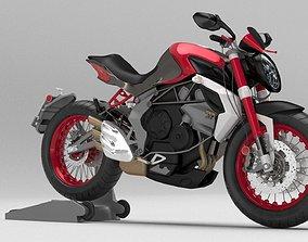 MV Agusta Brutale 3D Bike model street