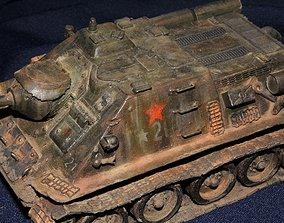SU 100 Tanks 3D print model