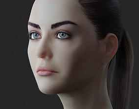 girl Female Head model