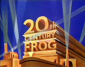 20th Century Frog Logo 3D