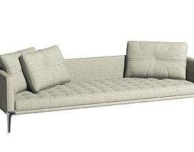 243 Volage Three Seater Sofa - Cassina 3D model