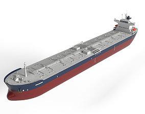 Tanker Panamax 245m 3D model