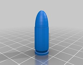 bullet 9mm 3D printable model