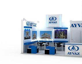 Ayvaz Exhibition Stand Design 2 3D model