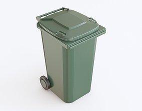 3D model Trash bin plastic