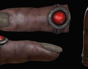 3D model Evidence Finger