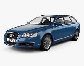 Audi A6 C6 Avant 2005 3D model